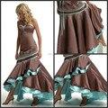Best seller Brown mãe do noivo vestidos querida sereia lantejoulas longo Formal mãe de vestidos de noiva