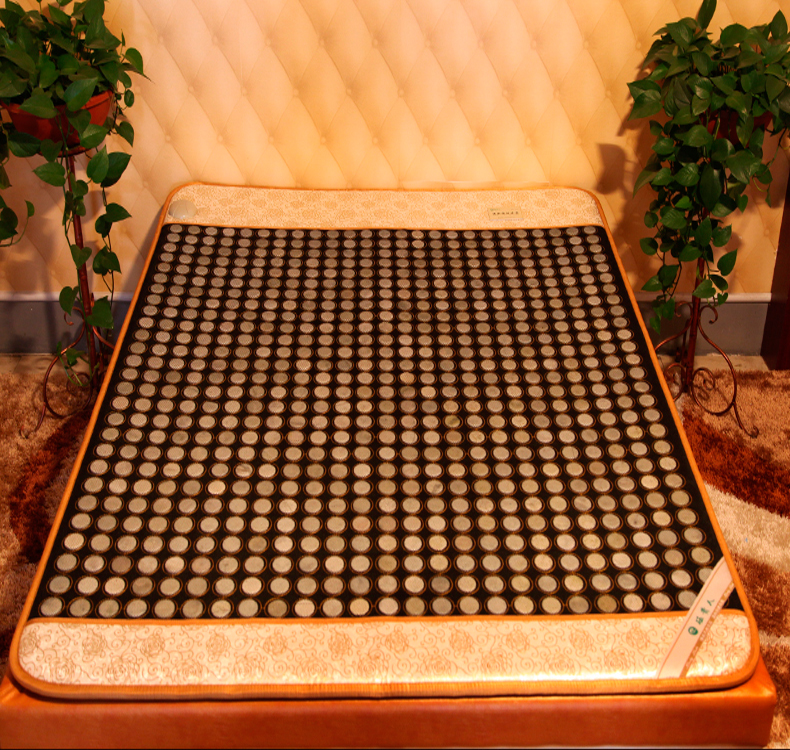 2016 Nice Bottom Heated Jade Mat Infrared heating health care mat jade mattress korea physical therapy mat 1.0X1.9M health care heating jade cushion natural tourmaline mat physical therapy mat heated jade mattress high quality made in china