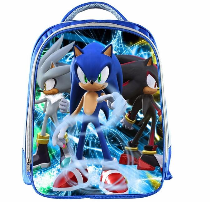 13 Inch Cartoon Sonic Backpack 12