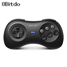 8BitDo M30 2.4G Wireless Bluetooth Gamepad for Sega Genesis Mega Drive for Nintendo Switch macOS Android Steam Xiaomi smartphone(China)