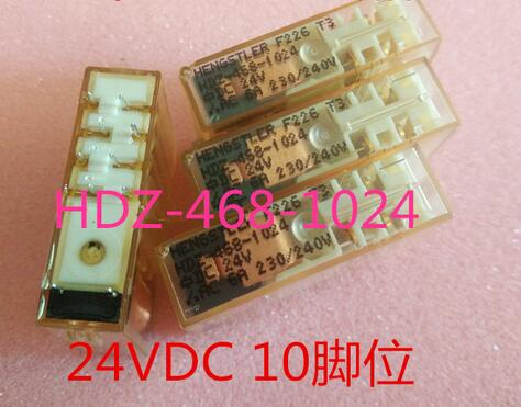 relay HDZ-468-1024 DC24V 24V HDZ-468-1024-DC24V HDZ-468-1024-24V HDZ4681024 DC24V 24V 24VDC DIP10 2pcs/lot hot new relay nf2e 24v nf2e 24vdc nf2e24v nf2e 24vdc dc24v 24v dip9 2pcs lot