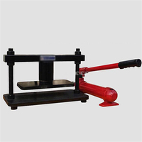 1T/10T Hydraulic Pressure Punching Cutting Hand Manual Die Cutting Machine Indentation Leather Mold Cutting Machine 2018 plus