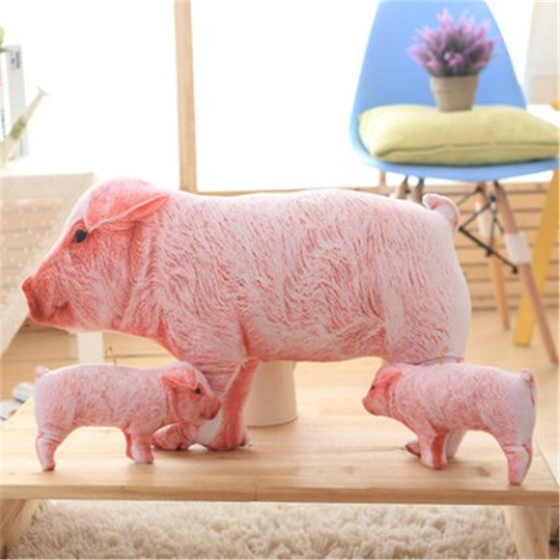 Creative simulation 3D baby pig plush toy old sow to hold pillow Christmas activities for children and girls ashok yadav r d askhedkar and s k choudhary synthesis and simulation of trolley for patient handling