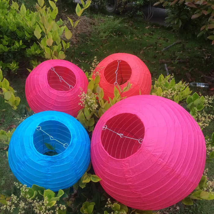 50 cái/lốc Trung Quốc Giấy Đèn Lồng 15 CM Vòng Bóng Đèn Cốc Đám Cưới Bữa Tiệc Sinh Nhật Bé Cô Dâu Tắm Kỳ Nghỉ Trang Trí