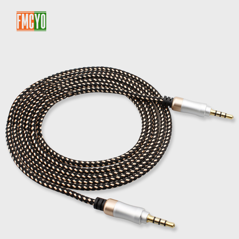 Image 2 - Jack 3.5 mm Audio Extension Cable 1.5m Dual Aux Cable for Car Computer Iphone