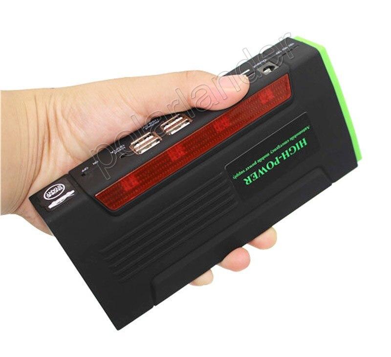 Mini saut Portable démarreur voiture Jumper 12 V Booster chargeur ordinateur Portable et téléphone Portable batterie externe batterie d'alimentation