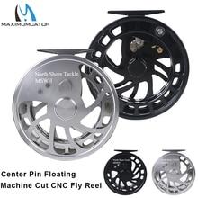 Maximumcatch Pusat Pin Centerpin Memancing Reel CNC Mesin Aluminium 6061-T6 Float Fishing Reel