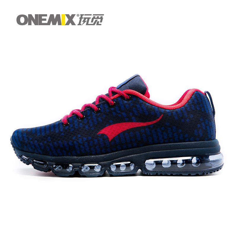Onemix newest mens sports shoes women running breathable mesh male sneakers lace up zapatos de hombre adult shoes size EU 36-46 onemix 2016 cushion sneaker original zapatos de hombre male athletic outdoor sport shoes male running shoes size 39 46
