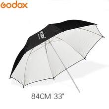 """Godox 33 """"83 سنتيمتر أبيض وأسود عاكس الإضاءة مظلة بمصابيح إضاءة للاستوديو فوتوجرافي"""