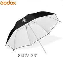 """Godox 33 """"83cm czarno białe oświetlenie odblaskowe lekki parasol do studia Photogrphy"""