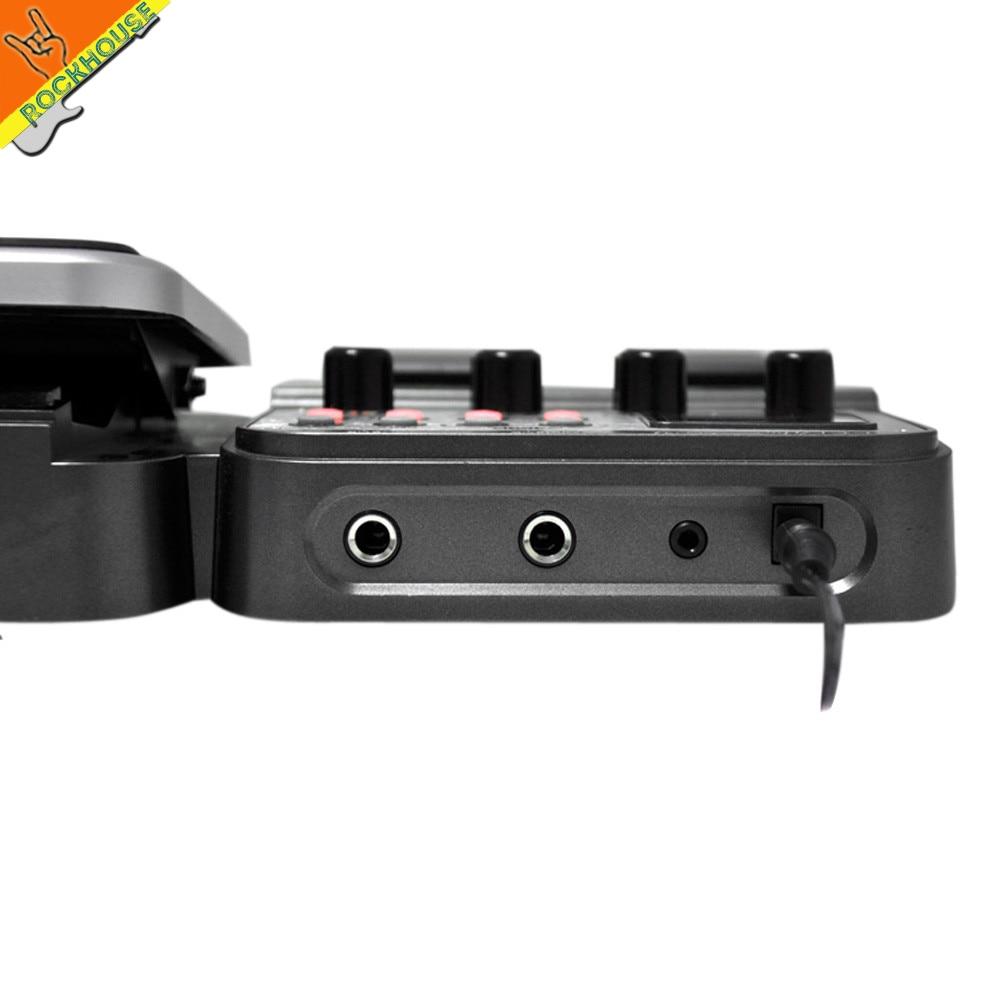 NUX MG-100 Gitaar Multi-effectprocessor Pedaal Gitaarra Modellering - Muziekinstrumenten - Foto 3