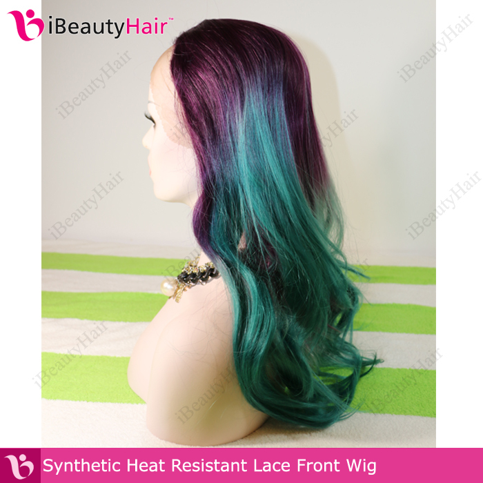 Free Shipping Cheap Heat Resistant Fashion Straight Ombre Hair Color