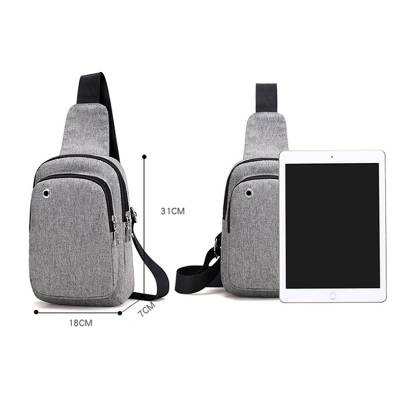 Men Anti Theft Backpack Headphone Hole Women Travel Chest Bag Single Shoulder Boys Girls Chest Bags Sac A Dos Homme Bolsa BP0245 (7)