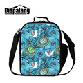 Dispalang Cooler Lunch Bags For Children Cartoon Animal Print Thermal Bag for Food Storage Insulated Kids Lunch Box For School