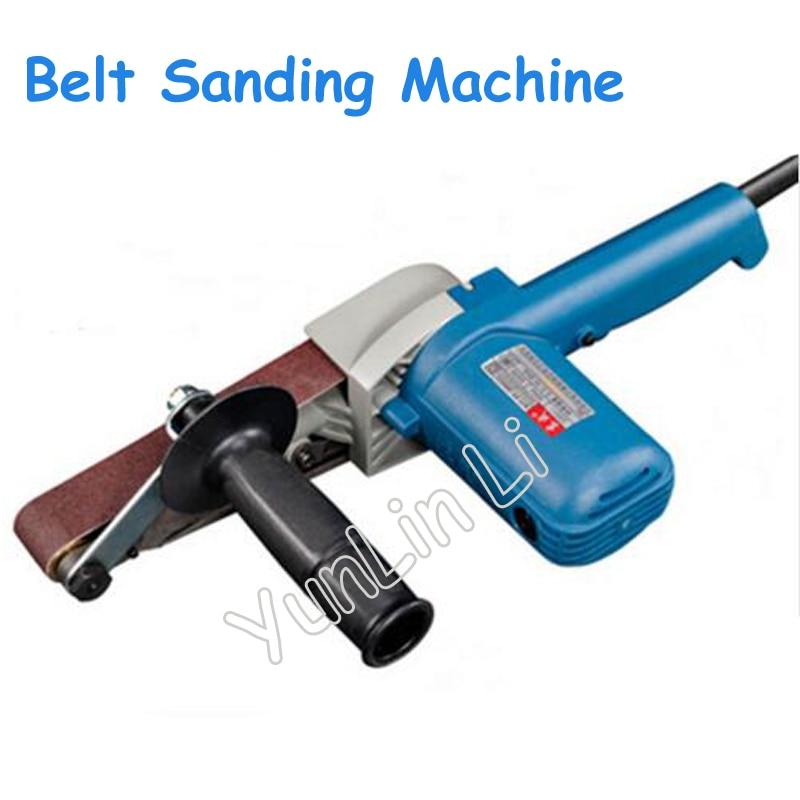 30*533mm Belt Sander 550W 220V Sandpaper Grinder Variable Speed High Power Woodworking Belt Grinding Tool цена