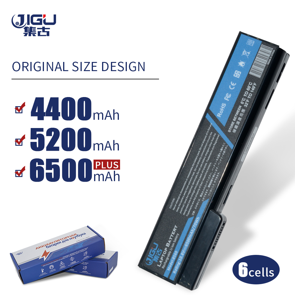 JIGU 6 Cells Laptop <font><b>Battery</b></font> For <font><b>HP</b></font> 628369-421 8460 CC06XL 628664-001 For <font><b>EliteBook</b></font> 8460w 8470p 8460p 8470w 8560p <font><b>8570p</b></font> image