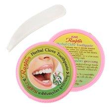 1 шт. отбеливающая зубная паста травяная зубная паста с гвоздикой для зубной пасты отбеливающая натуральная травяная зубная паста сохраняет рот свежим