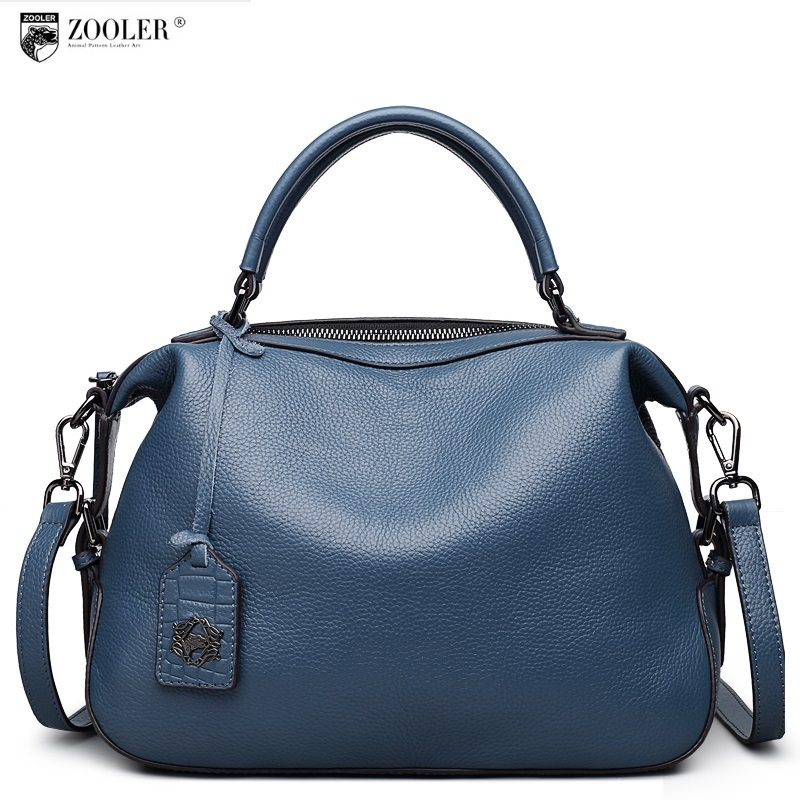 ZOOLER 2018 new delicate designed real genuine leather bag handbags women famous brands luxury shoulder bag