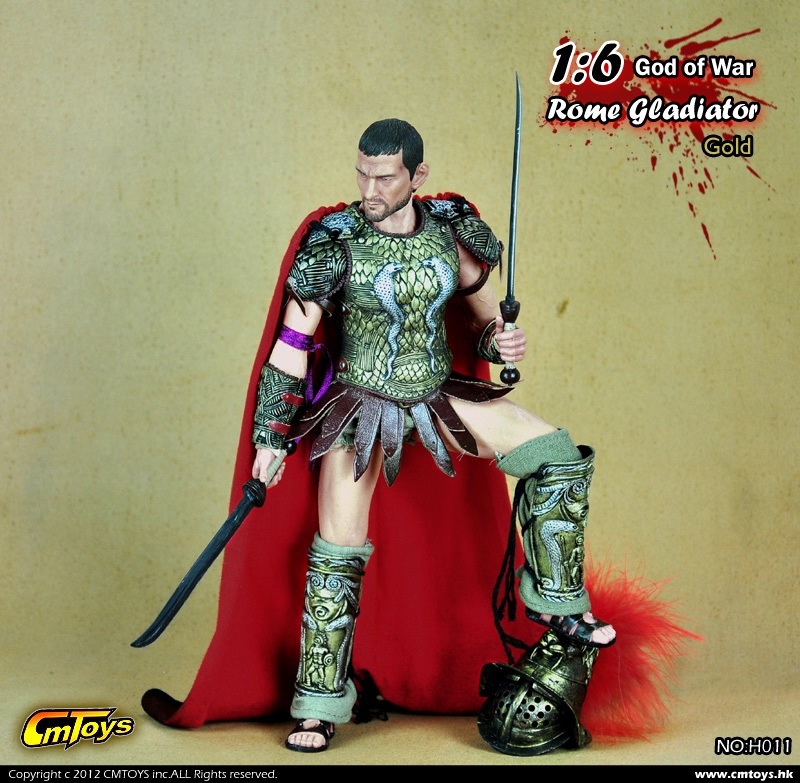 """CMTOYS 1:6th Scale Gladiator Roman Leather skirt For 12/"""" Male Body Doll"""