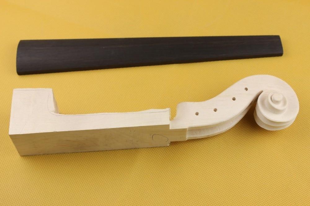 1pcs High Quality Viola Fingerboard 16 Ebony Fingerboard-fine Natural Ebony Musical Instruments