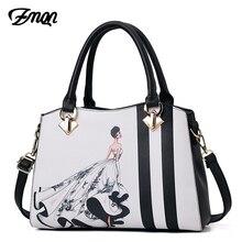 ZMQN sac à main en cuir pour femmes, sacoche de luxe de marque célèbre, sacoche de styliste, à bandoulière imprimée, A713, 2020