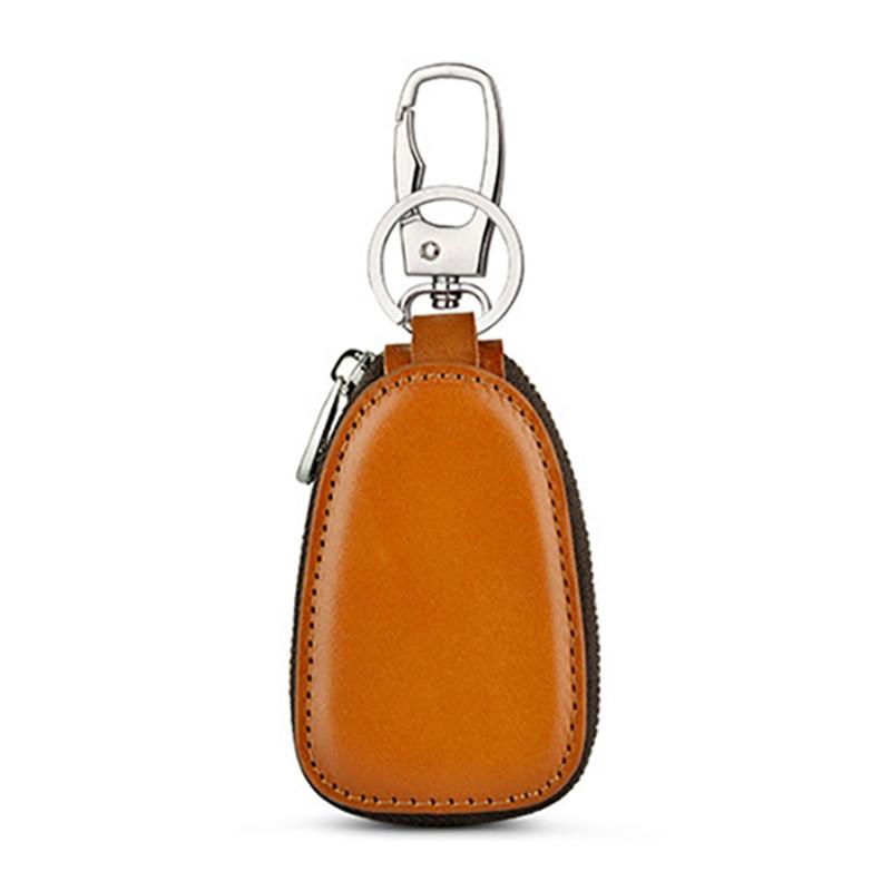 HTB14IZaB2iSBuNkSnhJq6zDcpXak - Osmond Men Women Genuine Leather Car Key Holders Housekeeper For Men Retro Multifunctional Home Keychain Case Female Key Wallet