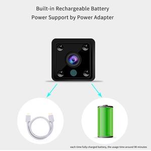 Image 3 - Mini Wifi IP Camera Smart Home Security Cameras CCTV Surveillance wireless network Built in Battery Audio camara de seguridad