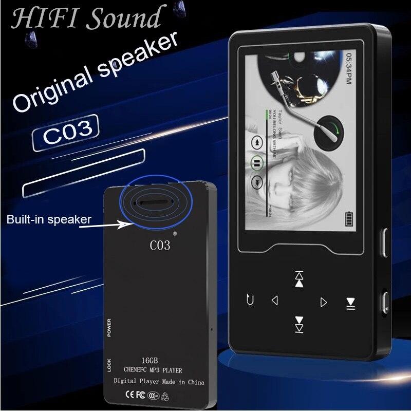 2018 Neue Ankunft Bluetooth Mp4 Player 16g Eingebaute Lautsprecher Touch-taste Metall Körper 2,4 Inch Bildschirm Mit Fm Tragbares Audio & Video Unterhaltungselektronik Unterstützung Sd Bis Zu 128g Angenehm Im Nachgeschmack