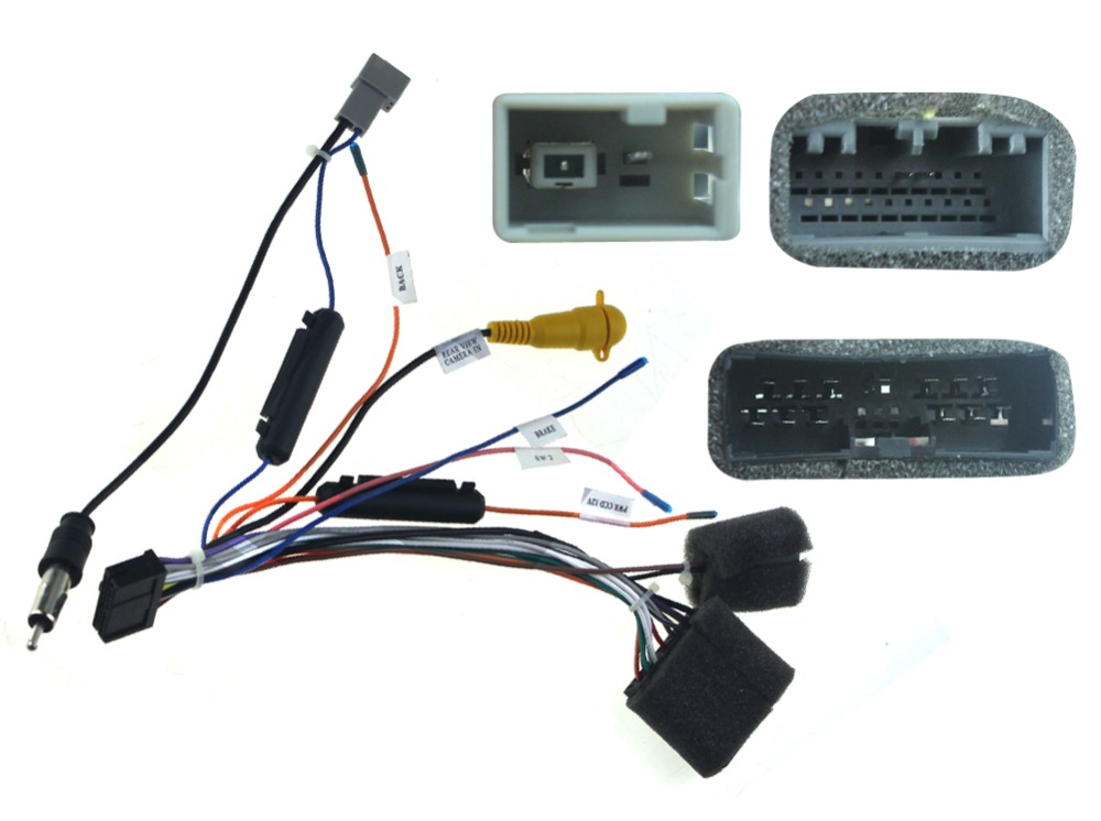 Special wiring harness for Toyota universal ISO harness car radio ...