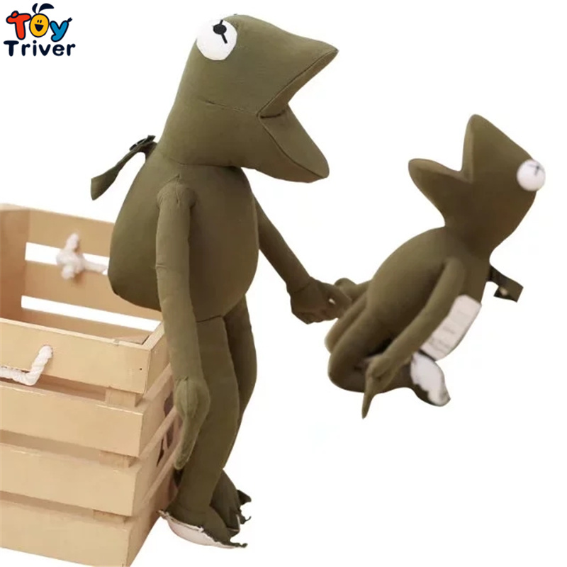 38cm Hot Ins Green Sad Frog Plush toy Stuffed Doll Baby Kids Children Birthday Christmas Gift Present Home Shop Decor Triver