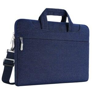 Image 2 - MOSISO Laptop Bag Case 15.6 15.4 13.3 Waterproof Notebook Shoulder Bags Women Men for MacBook Air Pro 13 15 inch  Computer Bag