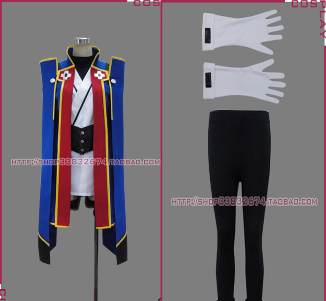 Anime Cosplay Costume BLAZBLUE Jin Kisaragi cosplay costume Christmas Party Uniform