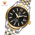 Luxury Brand OUYAWEI Men Watch Fashion Classic Stainless Steel Business Automatic Self Wind Mechanical Watches Relogio Masculino