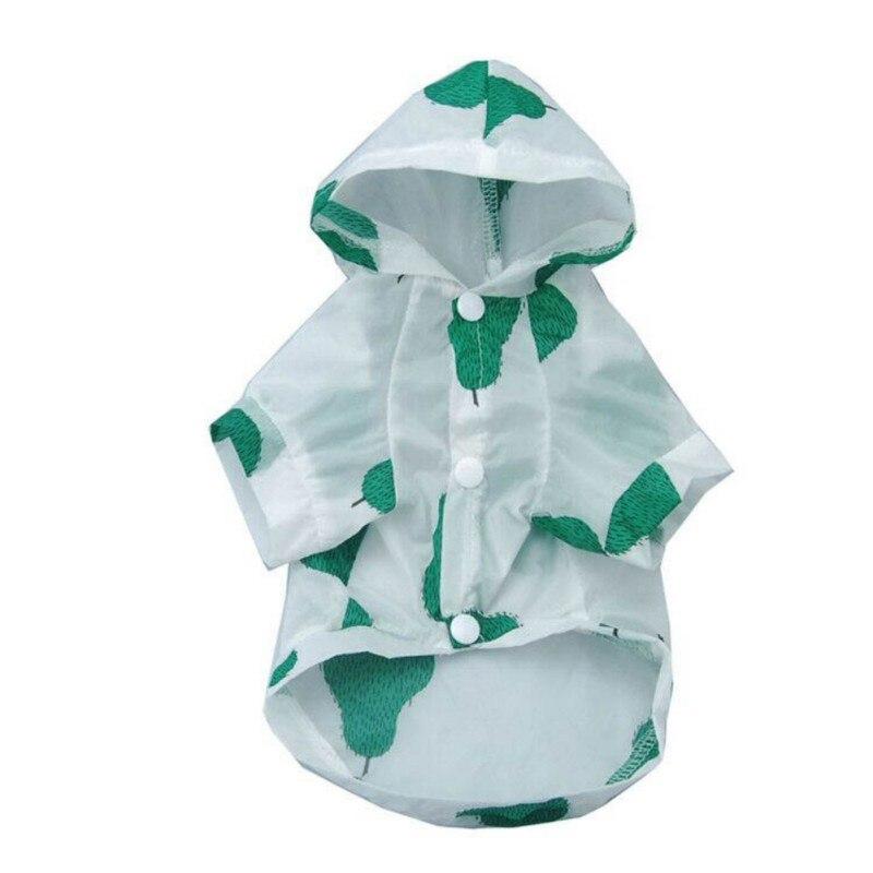 2018 Del Cucciolo Del Gatto Vestiti Di Protezione Solare Vestiti Del Cane Ananas Pomodori Formato S-xl Morbido Poliestere Impermeabili Per Cani In Tutte Le Stagioni