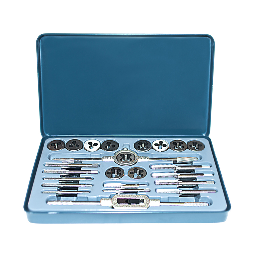Set of taps and dies Sturm! 1065-03-S24 set of 4pcs dies watch case back opener closer for om 4 sizes with handle key
