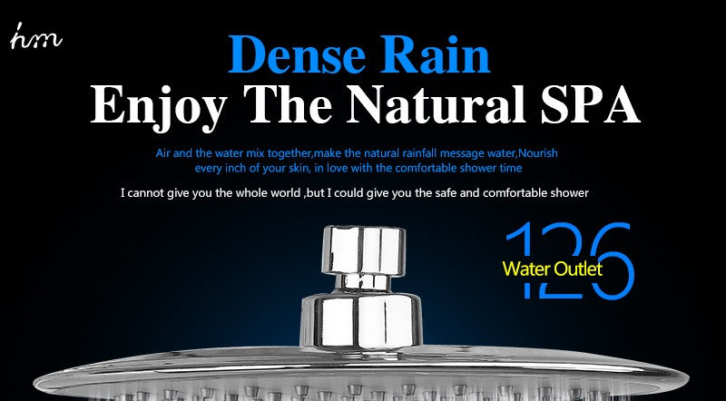 Rain Shower Head,9 Inch UltraTthin Regaderas Para Ducha,Banheiro Head Shower,Chuveiros Prysznic Duschkopf,Bathroom Showerhead (1)