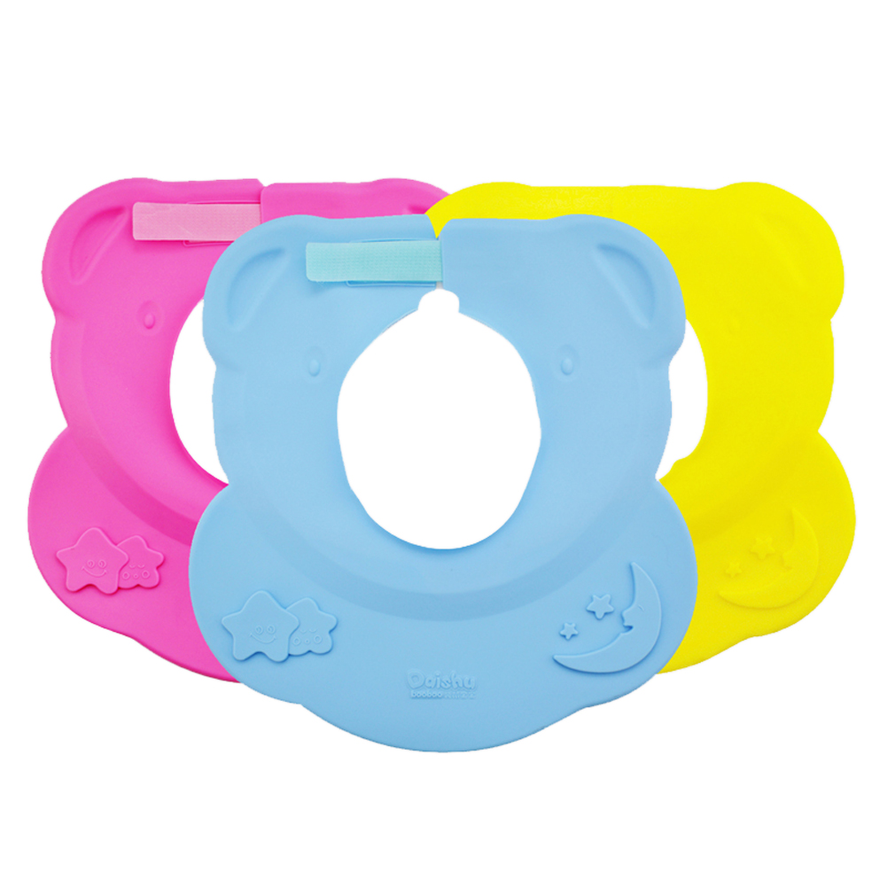 New adjustable Infant Baby Shower Cap Silicone Shampoo Ear Protection Bathing Bath Protect Soft Caps Baby Shower Accessory