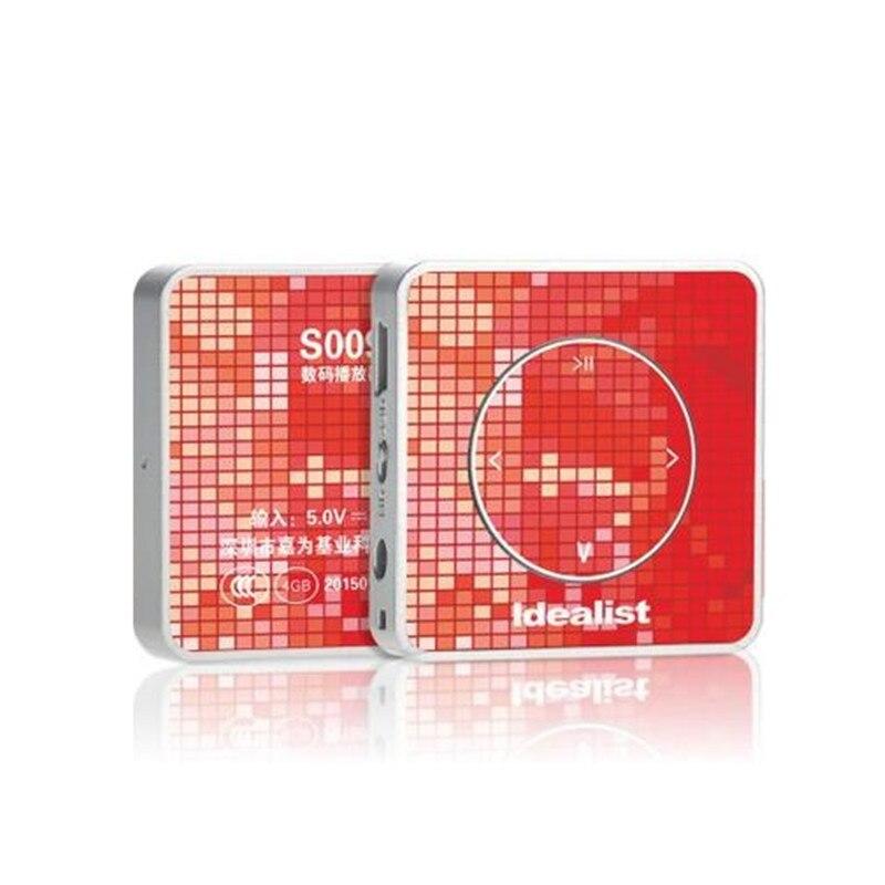 Hot sale Idealist mp3 Original Ultrathin 4gb mp3 Player Usb Brand mp3 Player Portable Mini Sport