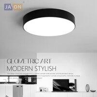 LED Modern Acryl Alloy Black White Round LED Lamp LED Light Ceiling Lights LED Ceiling Light