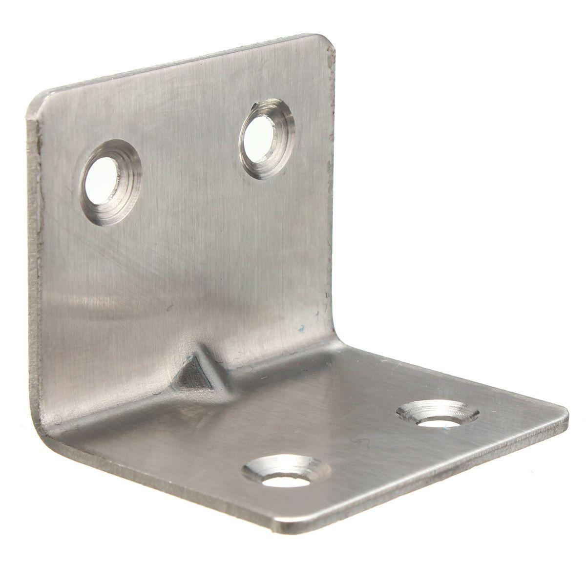 CNIM Горячая 30 мм х 30 мм Из Нержавеющей Стали Для Кухни Угловые Угловой Кронштейн пакеты: 5 Шт.