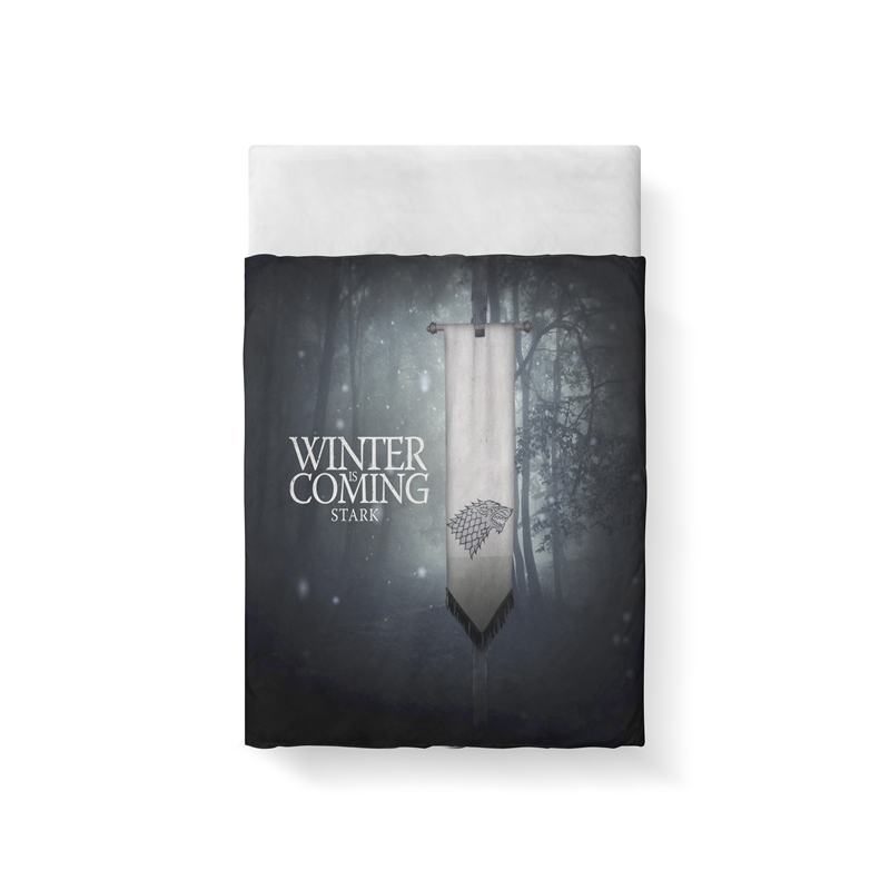 Skull Bedding Set Game Of Thrones Wolf Bedding Sets Queen Size Duvet Cover Sets Pillowcases Bed Linen colcha de