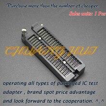 цена на IC TEST Detect black DIP40 test socket DIP40 ic socket Pitch=2.54mm
