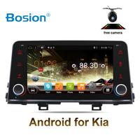 Автомобильный dvd плеер 1 din android 8,1 автомобильный dvd для Kia Picanto 2017 2018 (JA) и Kia Morning 2017 2018 (JA) wifi BT GPS 4G навигация