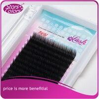 6 boxes/lot 18 lines Eyelash Natural false mink eyelashes Fake lashes Makeup Extension eyelash thick silk eyelash make up tools