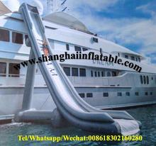 Water sports inflatable water slide water games inflatable yacht slide