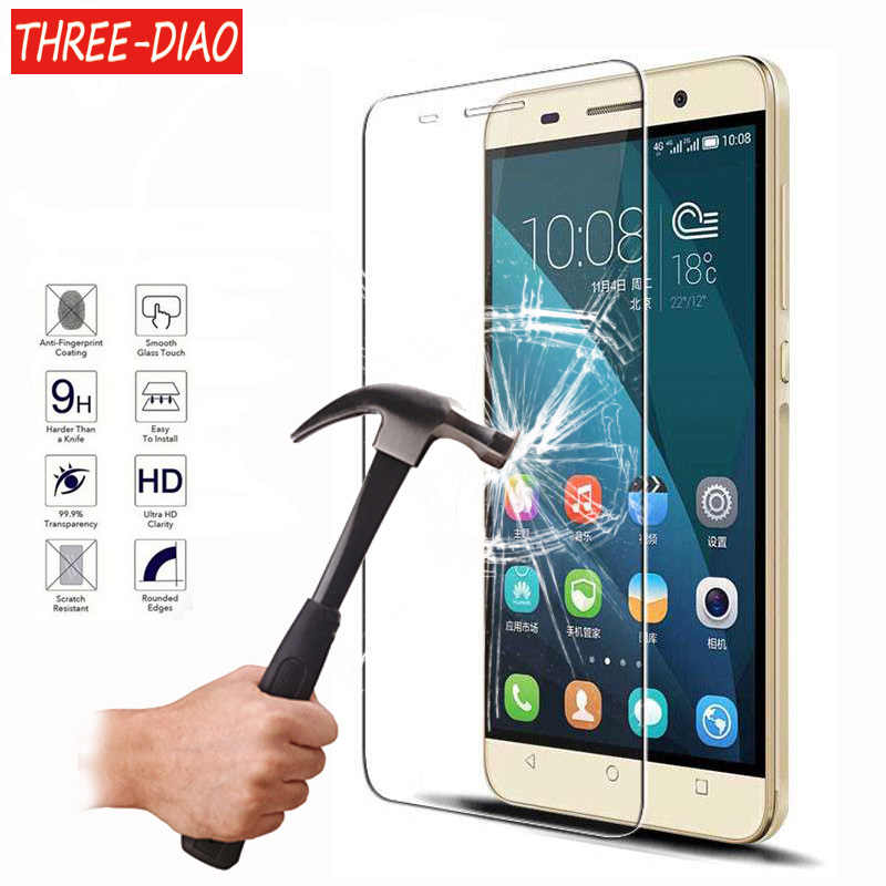 Explosion Proof Screen Protector For Huawei P8 P9 P10 Lite 2017 Honor 6 7 8 4C 5C Premium Tempered Glass Protective Cover Film