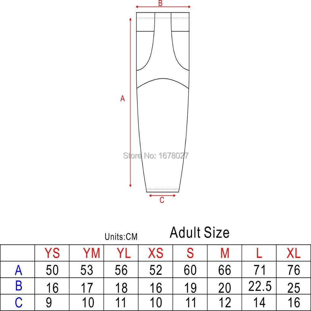 Socks new sizing chart also sublimation ice hockey with custom design wholsales rh aliexpress