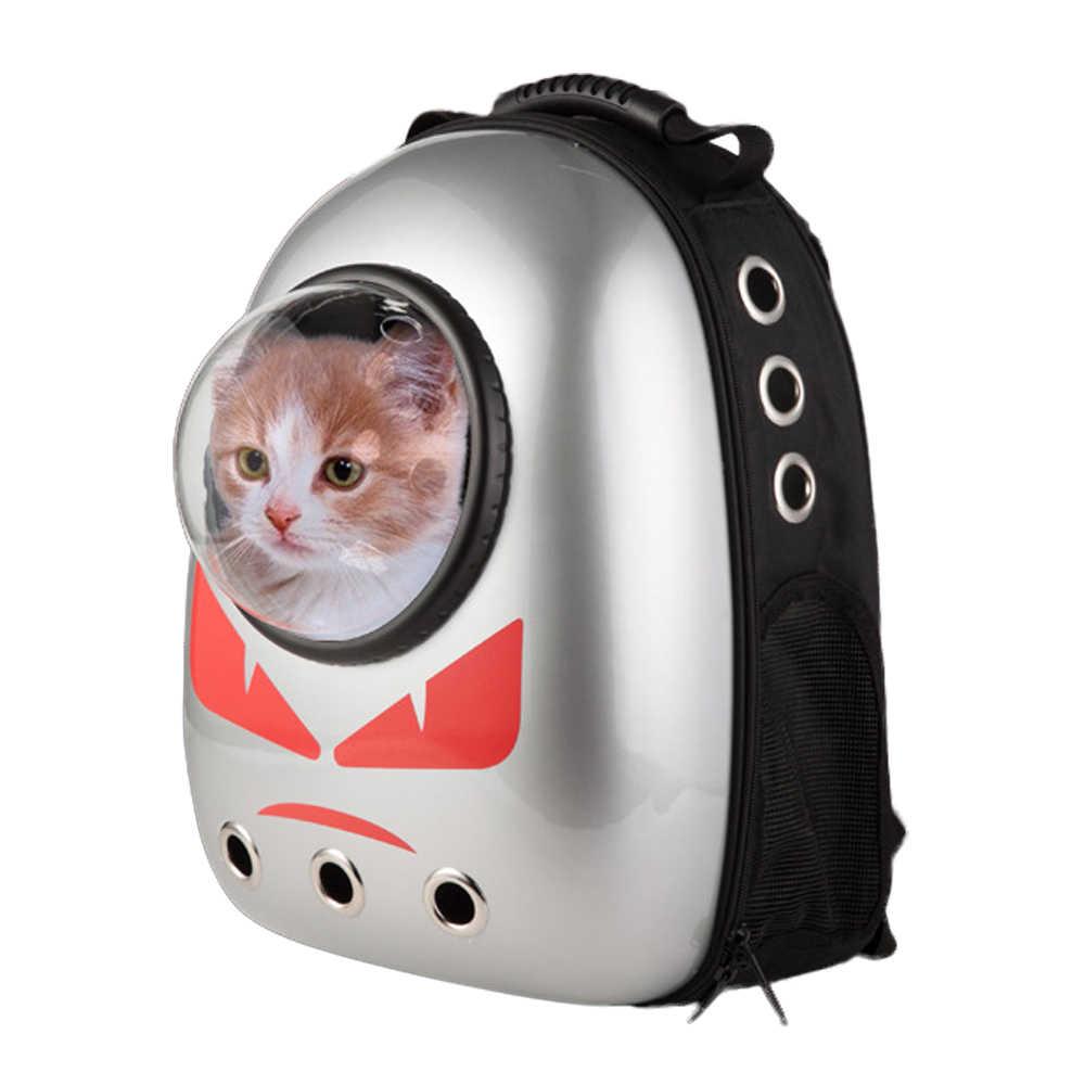 แมวสัตว์เลี้ยง - carrying Cat กระเป๋าเป้สะพายหลัง Space Space Capsule นักบินอวกาศสำหรับสุนัขลูกสุนัข Bubble Window Cat กระเป๋า Panier Chat สินค้าสำหรับการท่องเที่ยว