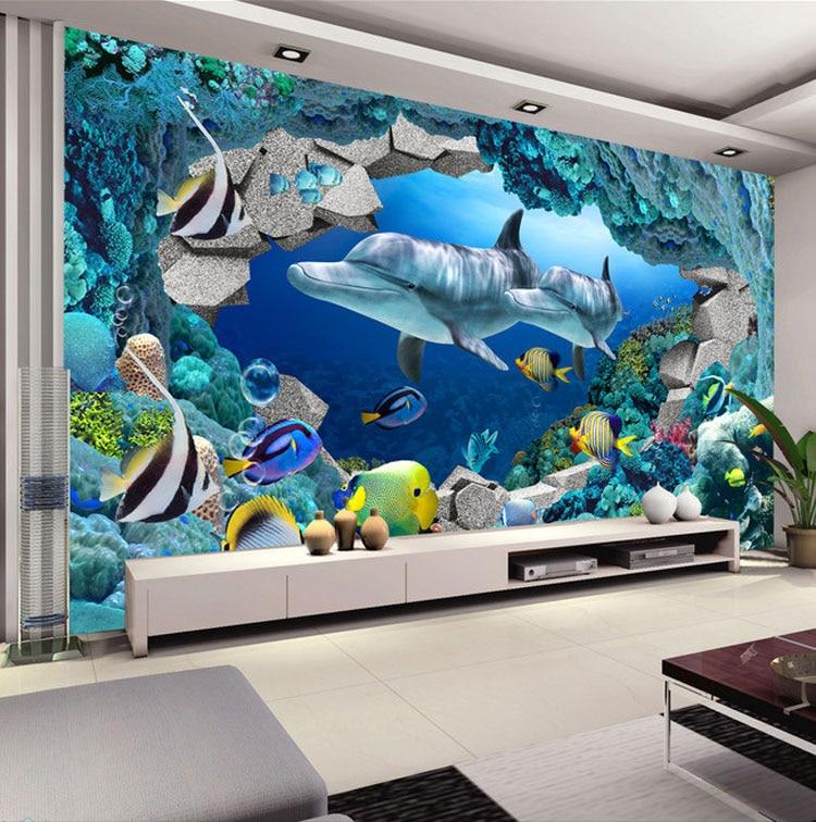 Fototapete kinderzimmer unterwasserwelt  Online Get Cheap Unterwasser Innen Tapete -Aliexpress.com ...