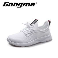 Gongma Summer Running Shoes Women Sneakers White Breathable Mesh Sport Shoes Woman Lightweight Outdoor Jogging Athletic